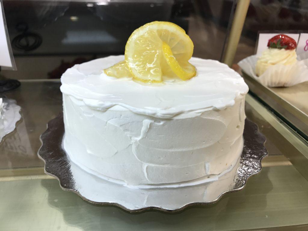 Dairy Free Lemon Cake Filling