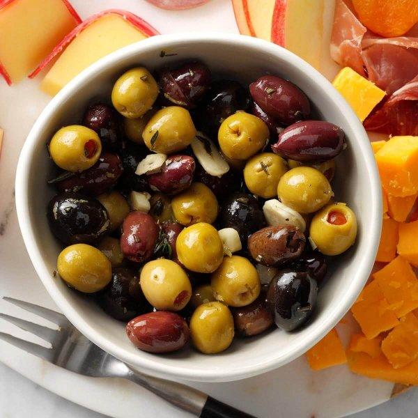 Olives, Pesto & Pickled Items